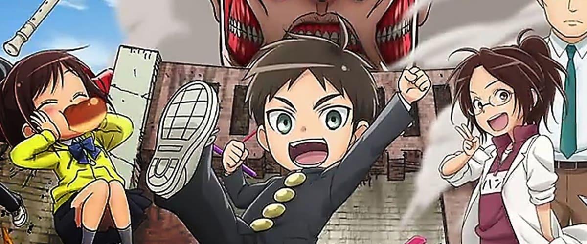 Watch Latest Episode Attack on Titan: Junior high (English ...