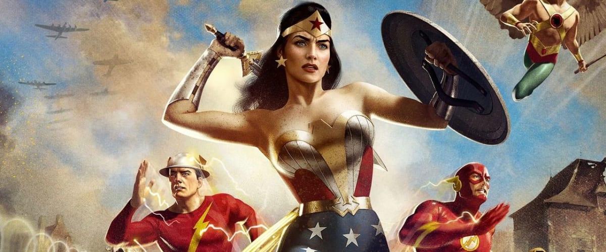 Watch Justice Society: World War II