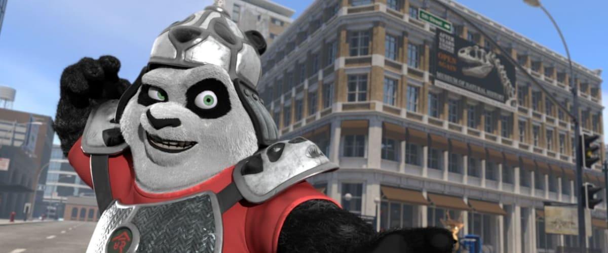 Watch Panda vs. Aliens