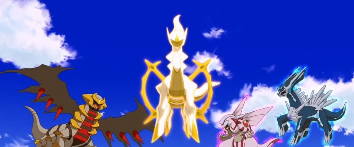 Watch Pokemon 12 Arceus And The Jewel Of Life For Free Online