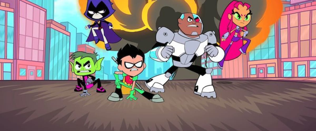 Watch Teen Titans Go - Season 1