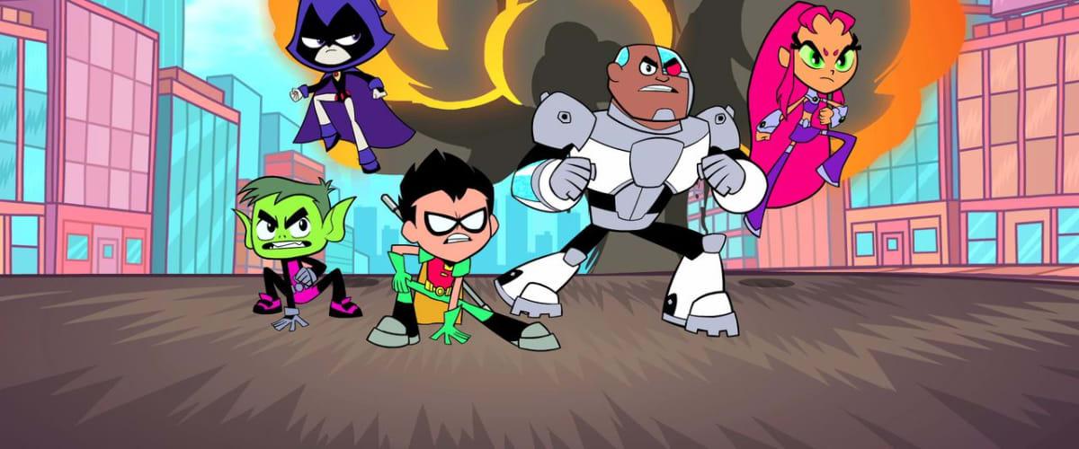 Watch Teen Titans Go! - Season 7