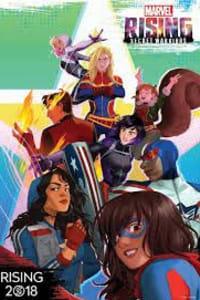 Marvel Rising Initiation SHORTS - Season 1 | Bmovies