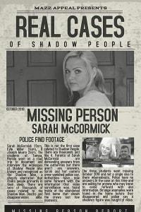 Real Cases of Shadow People The Sarah McCormick Story   Bmovies