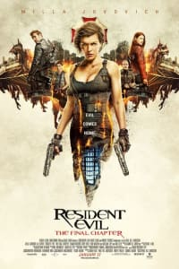 Resident Evil: The Final Chapter | Bmovies